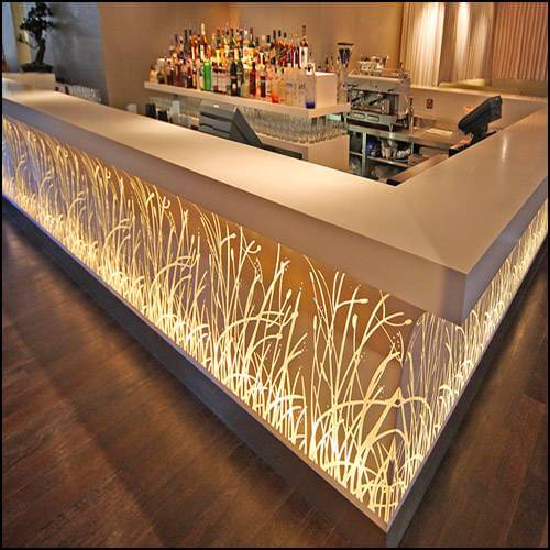 Acrylic Bar Counter