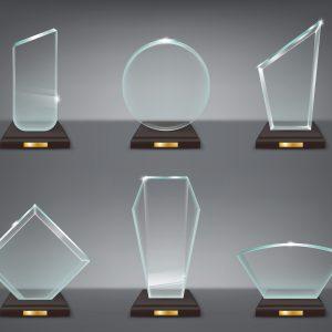 Acrylic Trophies in Dubai